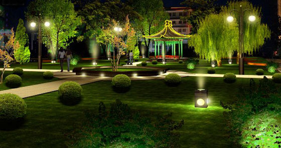 Park Led Outdoor Lighting Project