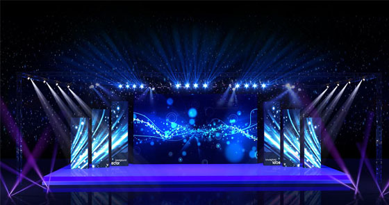 Tv Led Stage Lighting Project Mcpcb